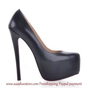 wholesale Christian Louboutin Patent Leather Platform Pumps Sheep Skin