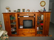 Two Solid Pine Tv Cabinets