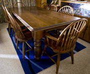 DINING ROOM / BOARD ROOM TABLE  & CHAIRS