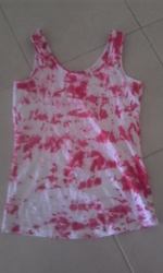 New hand made tie dye top